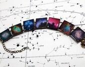 Nebulae and Galaxies Bracelet