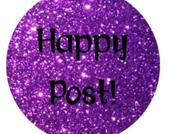 round happy post stickers 35mm