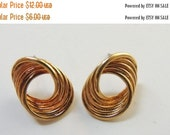SAVE 75 Gold-tone Post Earrings