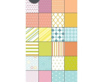Sizzix - Paper - Cardstock Pad - Basics - 48 Sheets - 6in x 12in
