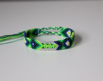 Green Arrows Friendship Bracelet