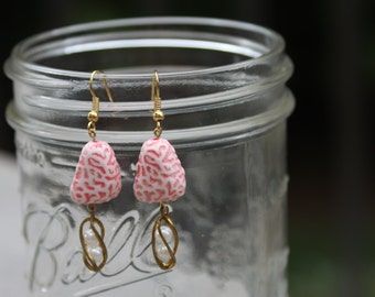 Pink Brains, Faux Pearl Birdcage