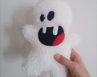 The Abominable Snowplush / Hand made plush, doll