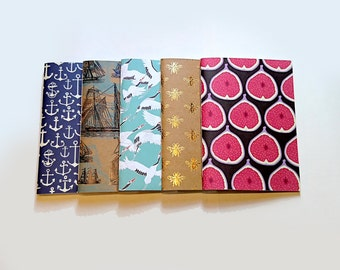 Nautical Botanical Paperback Notebook Collection