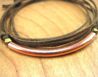 THE new copper bracelet, Triple Wrap Bracelet
