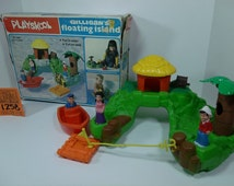 1970's Fisher/Price Gilligan's Island Floating Playset