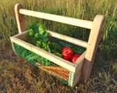 Vegetable Hod Garden Tote Harvest Basket MEDIUM