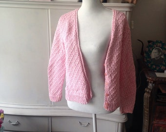Pink hand made jacket
