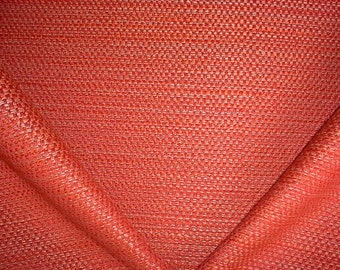 6 Yards Pierre Frey / Boussac F2374016 Albano in Cuivre - Luxurious Ruby Red Strie Plains Weave Upholstery Drapery Fabric - Free Shipping
