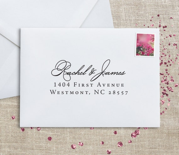 how to address wedding rsvp return address