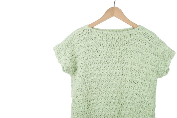 The Solis Top - Woman's Crochet Top - Crochet pattern