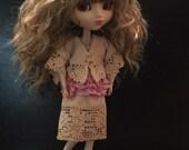 Dress and jacket for Pullip/Blythe