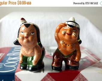 Half Off Shakers Native American Salt and Pepper Shakers