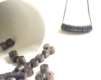 Vintage Grey Stone Necklace