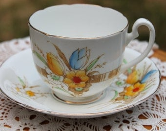 MELBA Bone China Teacup And Saucer Set