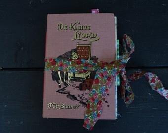 OOAK JunkJournal De Kleine Lord junque journal notebook
