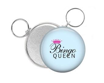 Bingo Queen Bingo Players  Keychain Key Chain Key Ring 2.25 inch Photo Keychain