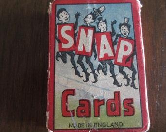 Vintage SNAP Cards Nursery Rhymes