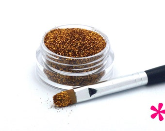 AMBER Cosmetic Glitter for Makeup, Eye Shadow, Lips, Nail Polish, Body Shimmer & Hair Sparkle (D001)