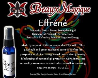 Effréné ~ Spiritual Cologne - Refresher, Energy Balance, reiki, witchcraft, hoodoo, protection, grounding, effy