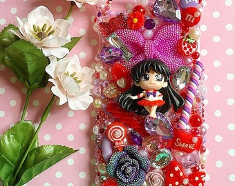 Kawaii Sailor Mars sweets phone case for iphone 6splus (SALE PRICE)