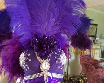 Purple Bra Hat