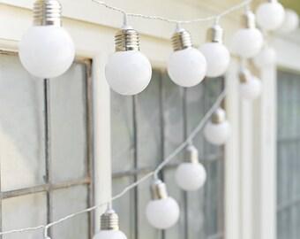 Coastal Festoon Light Bulb Style Hanging Garland