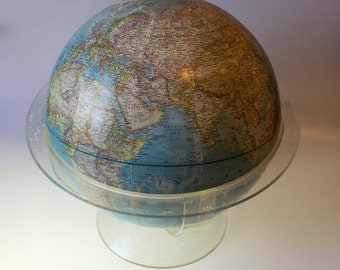 Vintage 1961 National Geographic Globe