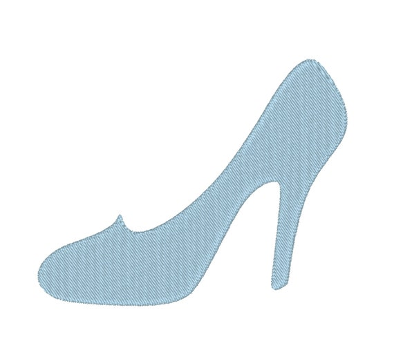 High Heel Shoe Pump Cinderella Glass Slipper Stiletto