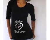"Under Construction"" Maternity Shirt, , baby shower shirt, Pregnancy clothes- maternity clothes- Baby announcement-"