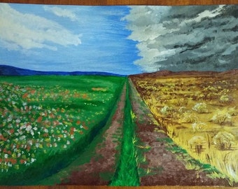 Bipolar - Acrylic Painting - Prints Available