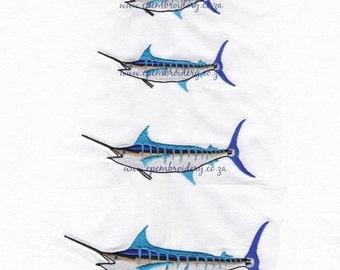 Blue Marlin in 4 Sizes