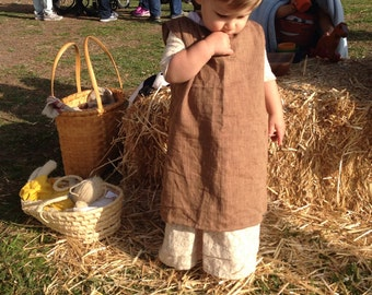 18th Century Colonial Toddler Pinner