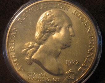 US Sons of Liberty Washington Token 1972 ~ Fully Uncirculated ~ Free Shipping USA