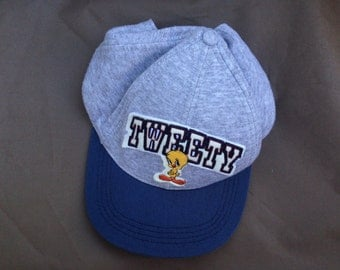 tweety bird looney tunes snapback hat cap