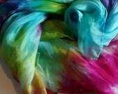 Festival Rainbow hand dyed Playsilk