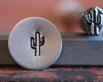 Cactus Metal Design Stamp - Metal Stamp - Perfect for Metal Stamping and Jewelry Design Work - SGS-3/S3-375