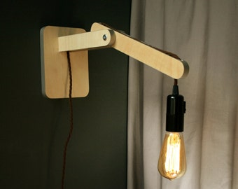 retro wall light or desk light