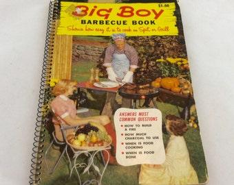 Barbecue Recipe Booklet, Big Boy Barbecue Book, BBQ Cookbook