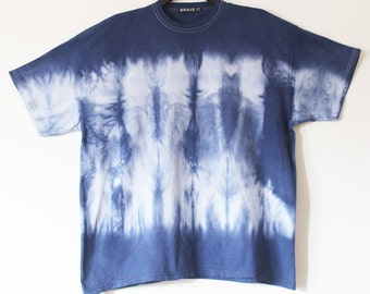 Men's tie dyed t shirt XXL