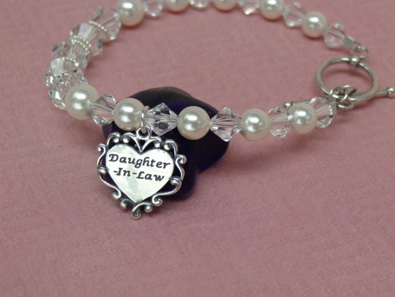 Daughter Wedding Gift: Future Daughter In Law Wedding Gift Bracelet Welcome To The