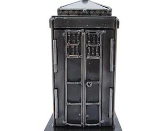 Phone Box Sculpture