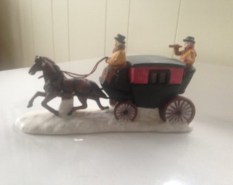 Dept. 56 Horse with Coach