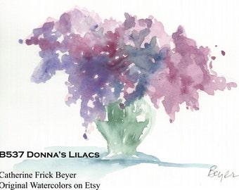 Donna's Lilacs B537