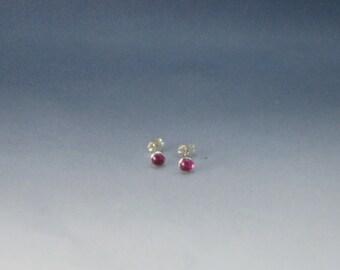 Gemstone stud earrings, silver earrings, amethyst, onyx, moonstone, Garnet, Aventurine, Opal, Lapis, pearl, silver studs,
