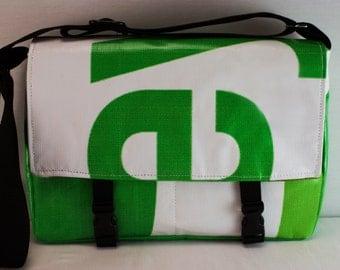 Messenger Bag - Recycled Billboard