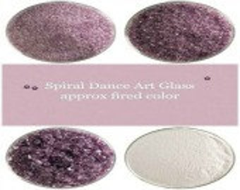 Bullseye COE 90 Light Violet Transparent Kiln Fusing Glass Frit~ 2oz  Choice  Fusing Supplies