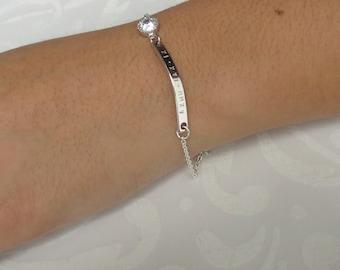Layered Bracelet Layering Jewelry Dainty Silver Cuff Bracelet Bridesmaids Gifts Friendship Bracelet