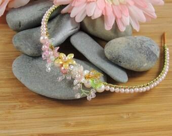 Spring Flower - Bridesmaid Headband