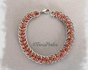 19 Chain Maille bracelet - Chainmaille bracelet